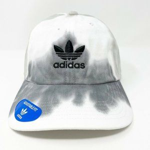 Adidas Mens Hat Relaxed Strap Back Tie Dye Black
